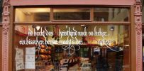 <p>For several shops in downtown Cologne I write quotes the shop owners choose for Christmas season, Easter, carnival (Mardi Gras) etc.</p>